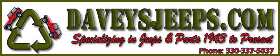 Davey's Jeeps.com Specializing in Jeeps and Parts 1943 to present